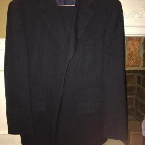 Jones of New York Black 2 piece Suit 46R